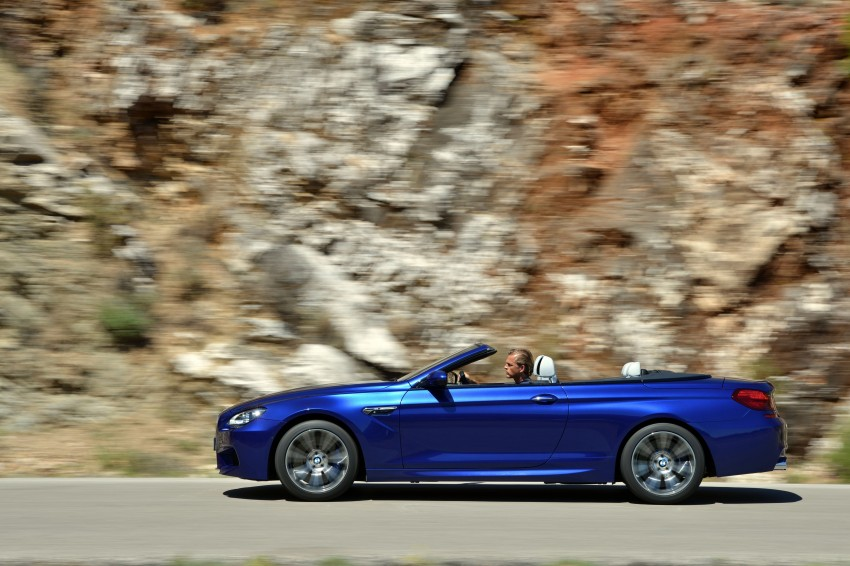 BMW M6 Coupe and Convertible – new photos Image #114119