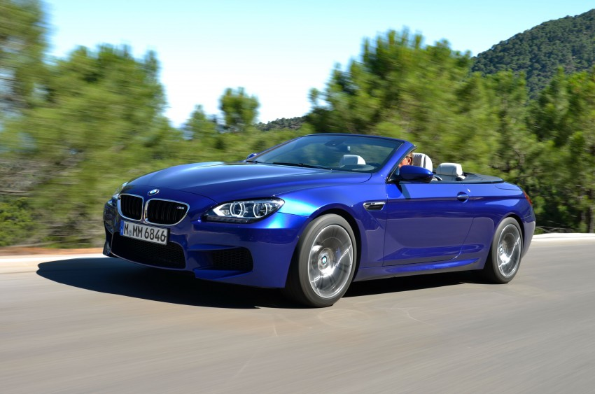 BMW M6 Coupe and Convertible – new photos Image #114120