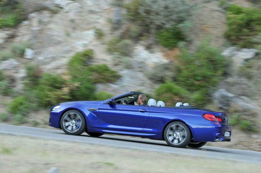 BMW M6 Coupe and Convertible – new photos Image #114121