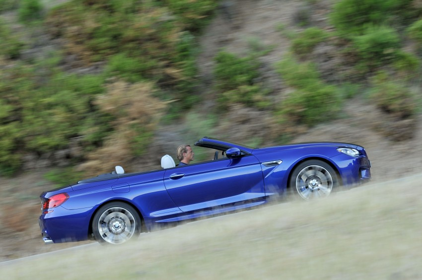 BMW M6 Coupe and Convertible – new photos Image #114122