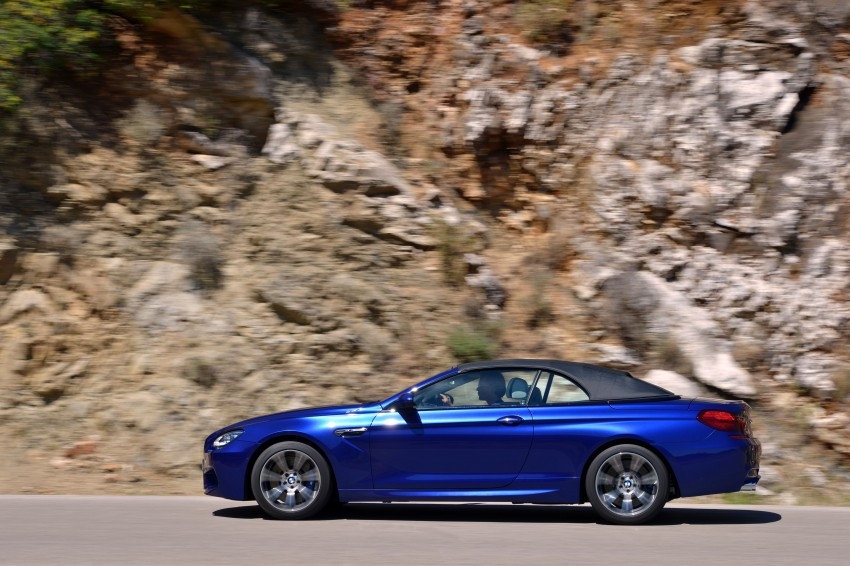BMW M6 Coupe and Convertible – new photos Image #114123
