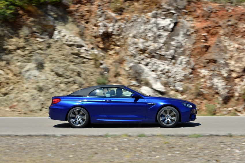 BMW M6 Coupe and Convertible – new photos Image #114124