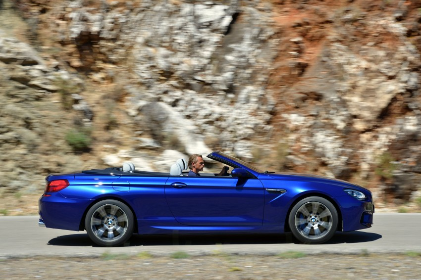 BMW M6 Coupe and Convertible – new photos Image #114125
