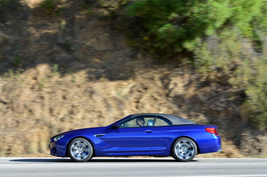 BMW M6 Coupe and Convertible – new photos Image #114126