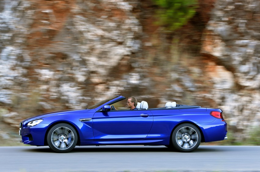 BMW M6 Coupe and Convertible – new photos Image #114127