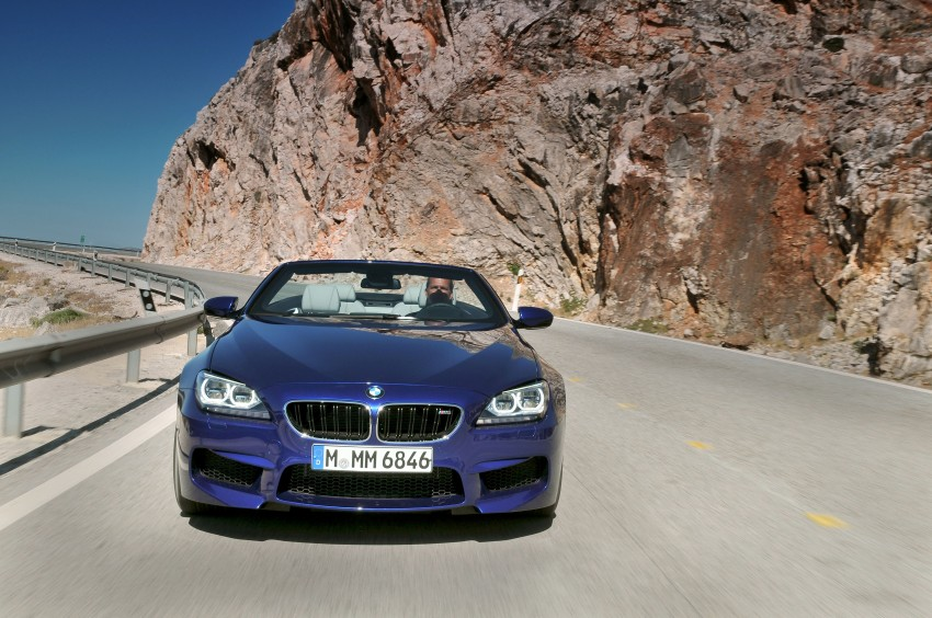 BMW M6 Coupe and Convertible – new photos Image #114128