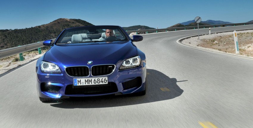 BMW M6 Coupe and Convertible – new photos Image #114129