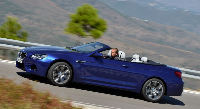 BMW M6 Coupe and Convertible – new photos Image #114130