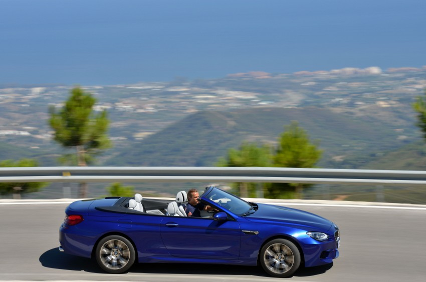 BMW M6 Coupe and Convertible – new photos Image #114131