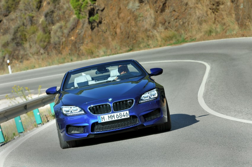 BMW M6 Coupe and Convertible – new photos Image #114132