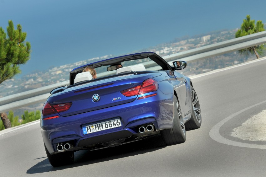 BMW M6 Coupe and Convertible – new photos Image #114133