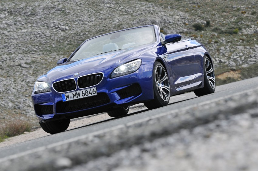 BMW M6 Coupe and Convertible – new photos Image #114135