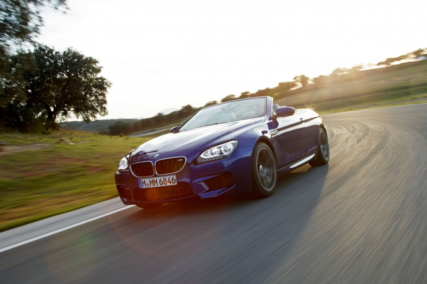 BMW M6 Coupe and Convertible – new photos Image #114137