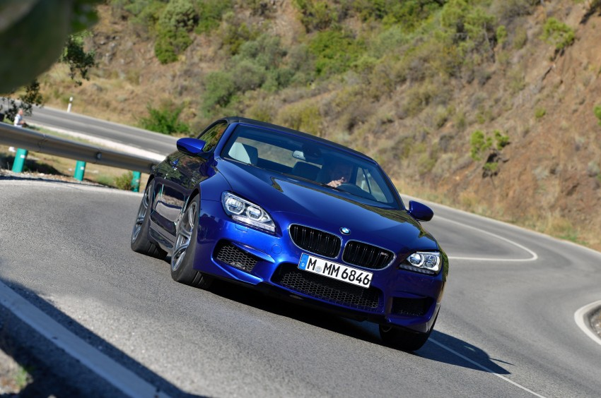 BMW M6 Coupe and Convertible – new photos Image #114138