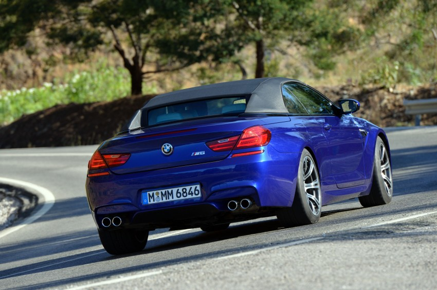 BMW M6 Coupe and Convertible – new photos Image #114139
