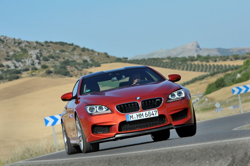 BMW M6 Coupe and Convertible – new photos Image #114142