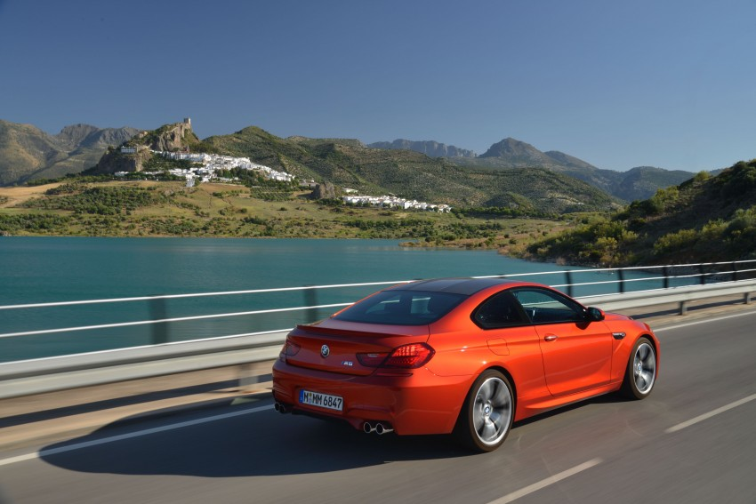BMW M6 Coupe and Convertible – new photos Image #114143