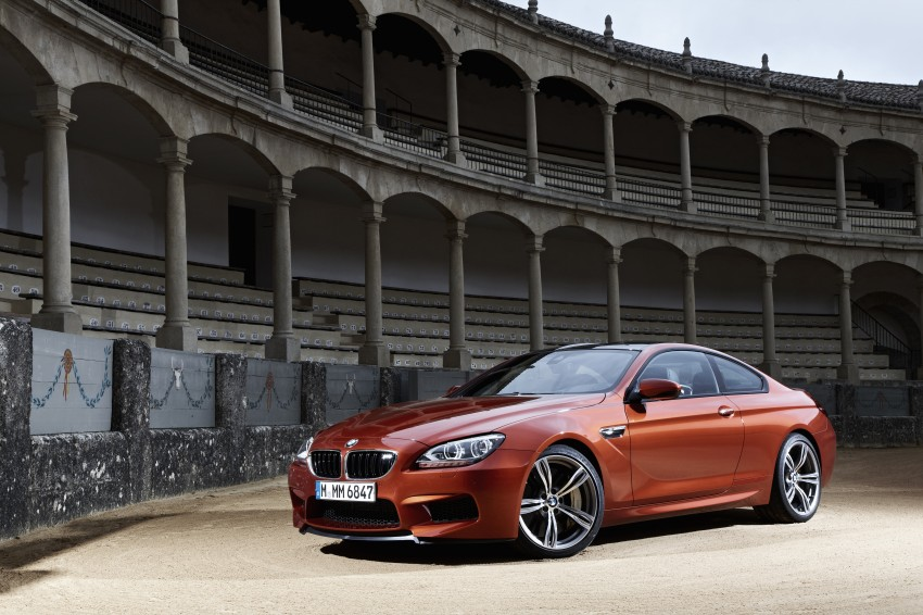 BMW M6 Coupe and Convertible – new photos Image #114145