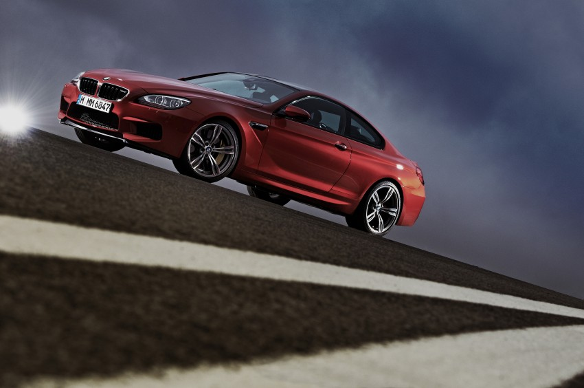 BMW M6 Coupe and Convertible – new photos Image #114146