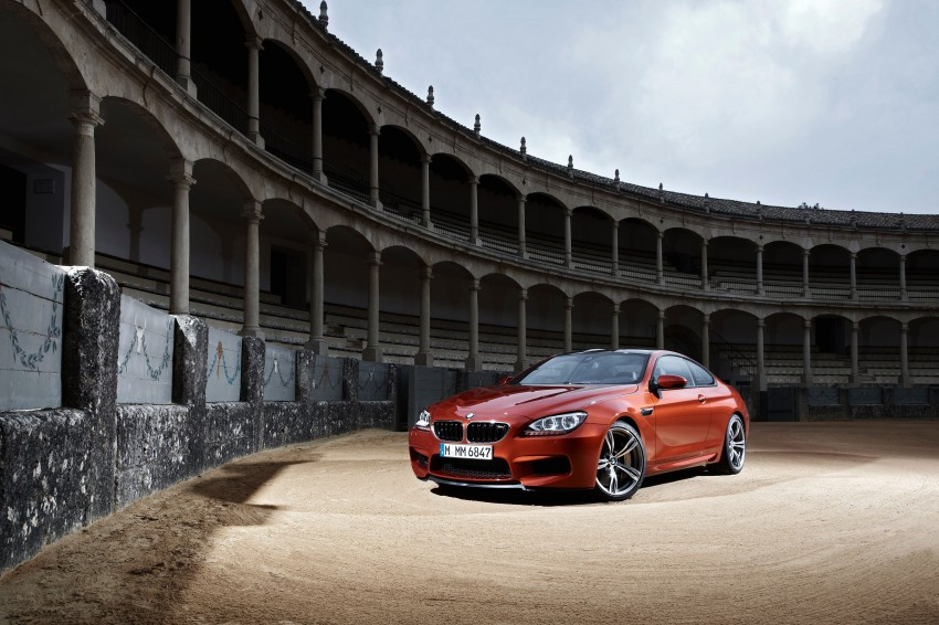 BMW M6 Coupe and Convertible – new photos Image #114147