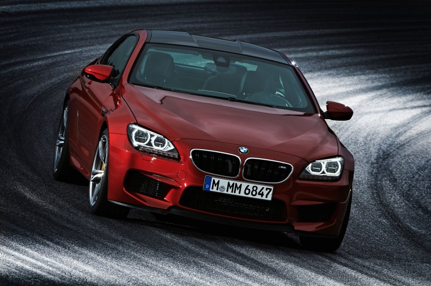 BMW M6 Coupe and Convertible – new photos Image #114149