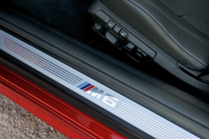 BMW M6 Coupe and Convertible – new photos Image #114160