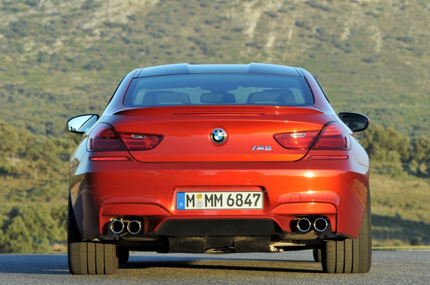 BMW M6 Coupe and Convertible – new photos Image #114175