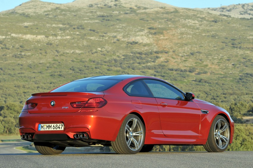 BMW M6 Coupe and Convertible – new photos Image #114176