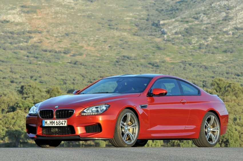 BMW M6 Coupe and Convertible – new photos Image #114178