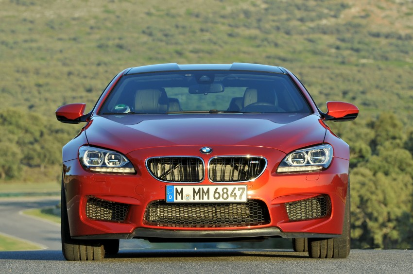 BMW M6 Coupe and Convertible – new photos Image #114179