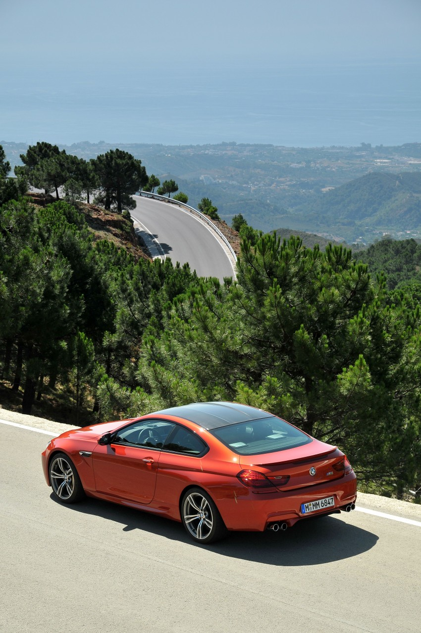 BMW M6 Coupe and Convertible – new photos Image #114180