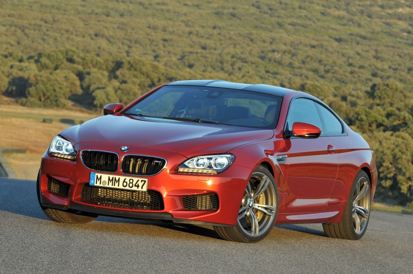 BMW M6 Coupe and Convertible – new photos Image #114182