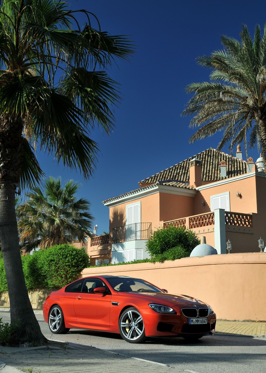BMW M6 Coupe and Convertible – new photos Image #114183