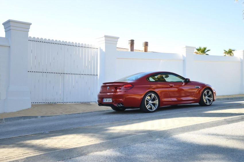 BMW M6 Coupe and Convertible – new photos Image #114184