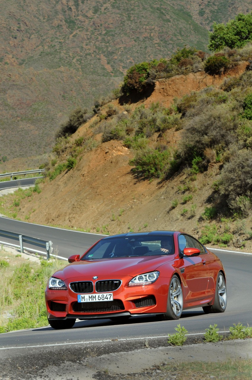 BMW M6 Coupe and Convertible – new photos Image #114185