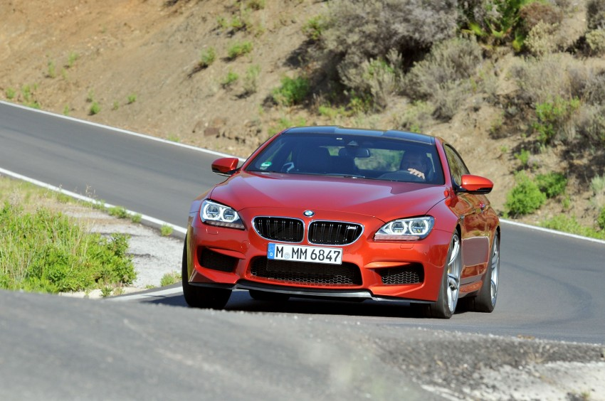 BMW M6 Coupe and Convertible – new photos Image #114186