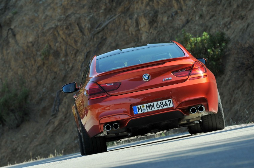 BMW M6 Coupe and Convertible – new photos Image #114187