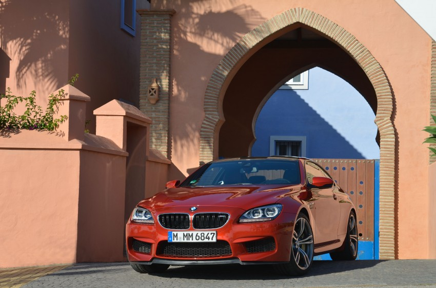 BMW M6 Coupe and Convertible – new photos Image #114188