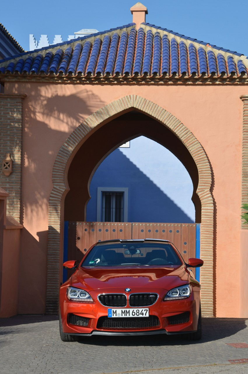 BMW M6 Coupe and Convertible – new photos Image #114189