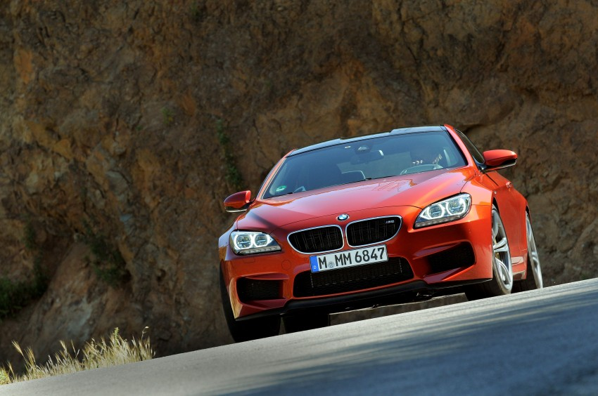BMW M6 Coupe and Convertible – new photos Image #114191