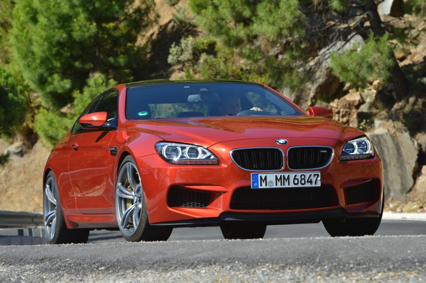 BMW M6 Coupe and Convertible – new photos Image #114192