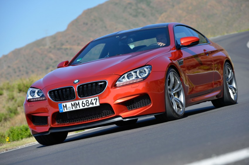 BMW M6 Coupe and Convertible – new photos Image #114194