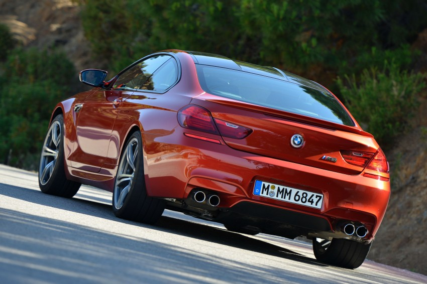 BMW M6 Coupe and Convertible – new photos Image #114195