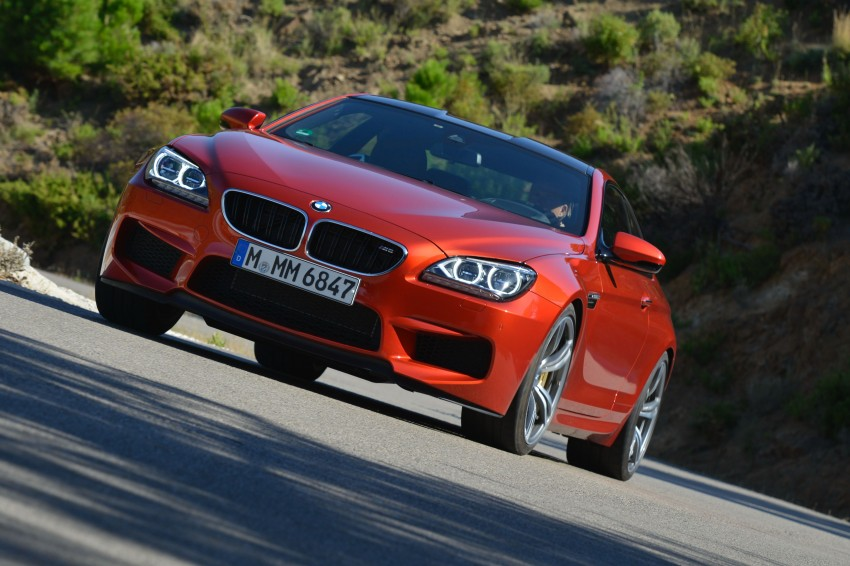 BMW M6 Coupe and Convertible – new photos Image #114196