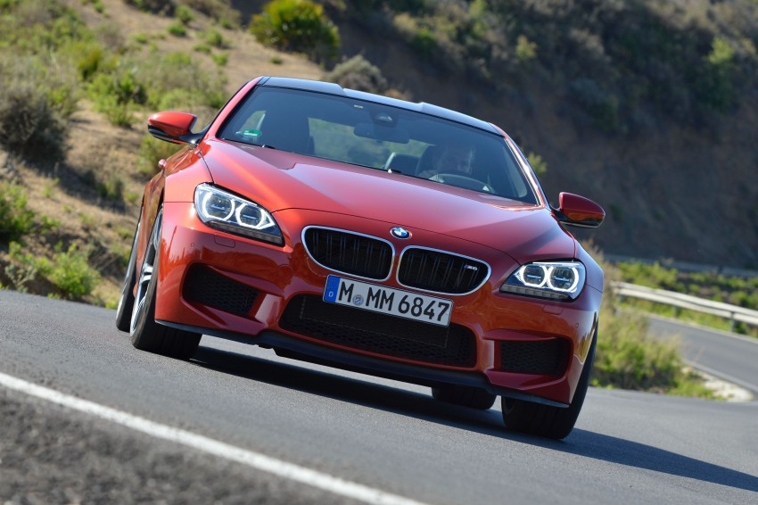 BMW M6 Coupe and Convertible – new photos Image #114197