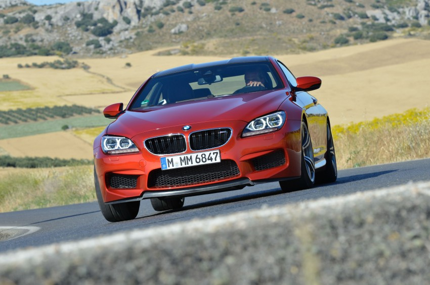 BMW M6 Coupe and Convertible – new photos Image #114198