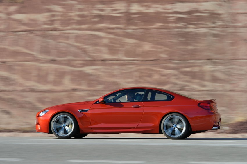 BMW M6 Coupe and Convertible – new photos Image #114199