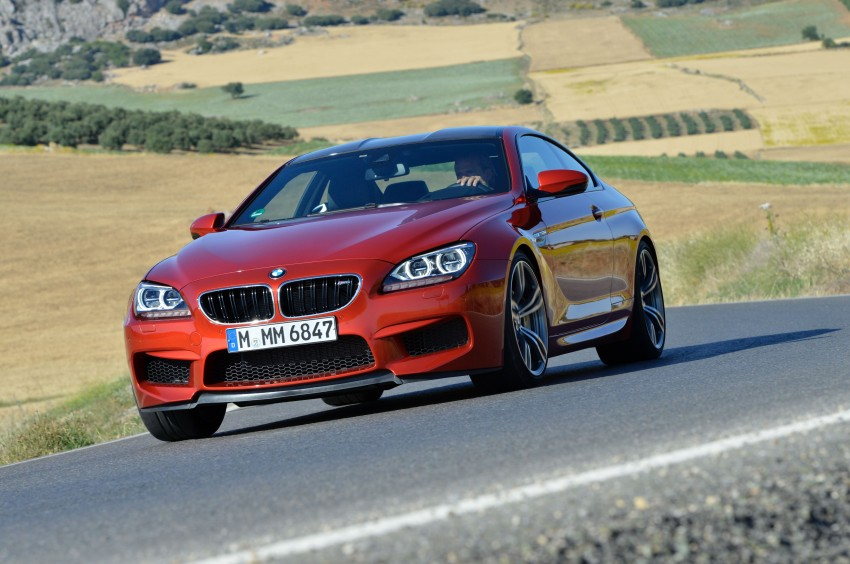 BMW M6 Coupe and Convertible – new photos Image #114200
