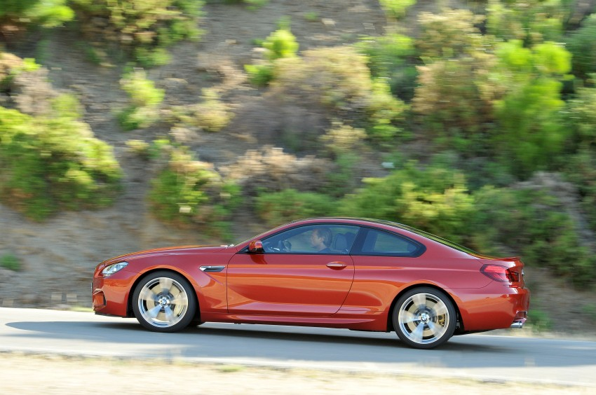 BMW M6 Coupe and Convertible – new photos Image #114201