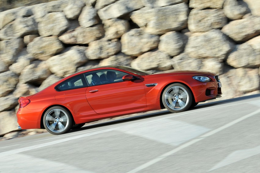 BMW M6 Coupe and Convertible – new photos Image #114202